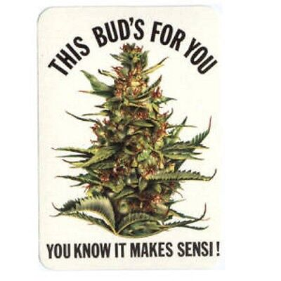 It Makes Sensi! - Aufkleber Sticker #314 Drugs Joint Cannabis Grass FUN Kiffen
