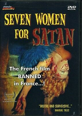 Seven Women for Satan (2003, DVD NUEVO) WS (REGION 1)