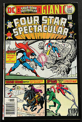 DC Four Star Spectacular #2, #3, #4  1976  Giant Size Lot of 3 High Grade Books