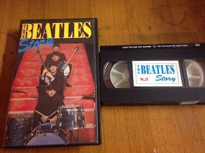 The Beatles Story  VHS Videocassetta