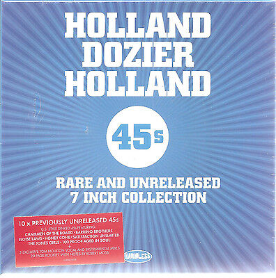 "HOLLAND DOZIER HOLLAND ""7 Inch Collection"" 10 x 7"" Vinyl Box Set sealed"