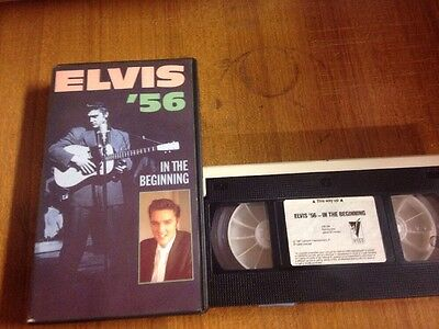 Elvis '56 In The Beginning VHS Videocassetta