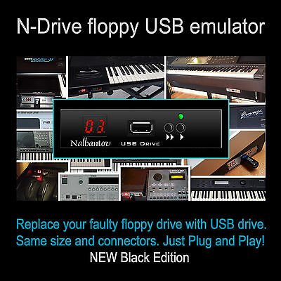 FLOPPY EMULATOR FOR Roland MV30 + USB Pen Drive with Boot disk