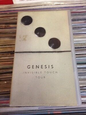 Genesis Invisible Touch Tour 2 VHS