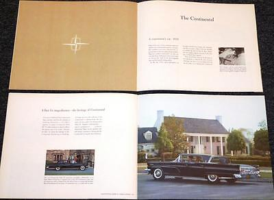 """1959 Lincoln Mark IV history book """"1922-1959 Pursuit of Perfection"""" cars  104"""