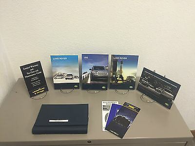 2008 Land Rover LR2 OEM Owners Owner's Manual Set Fast Free Shipping