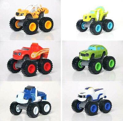 Coches BLAZE Y MONSTER MACHINE Dibujos TV niños juguete CRUSHER