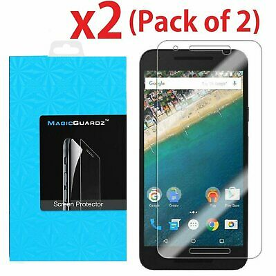 2-PACK Premium Tempered Glass Screen Protector for LG Google Nexus 5X