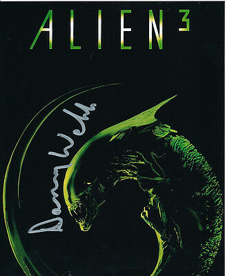 Danny Webb In Person Signed Poster Photo - A91 - Alien 3