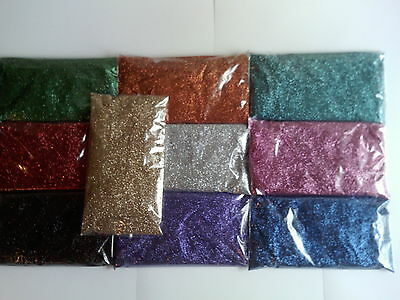 2 kg Glitter refill pack for tattoos / many uses silver red blue gold pink green