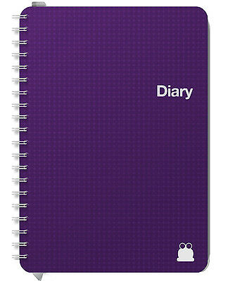 Week to View & Day per Page Diaries.  2016 - 2017. A5 & A4 Available. NEW.