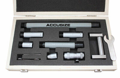 2-20'' Inside Micrometers Sets 0.001'' Increments, #3011-4051