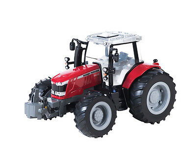 TOMY 43078A1 Britains Big Farm Massey Ferguson 6613 Tractor with Sounds Age 3+