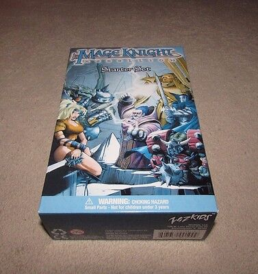 MAGE KNIGHT REBELLION Starter Set Wiz Kids Collectable Game Factory Sealed