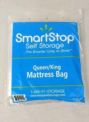 Smartstop Full Twin Queen King Clear Plastic Moving Storage Mattress Bag Cover