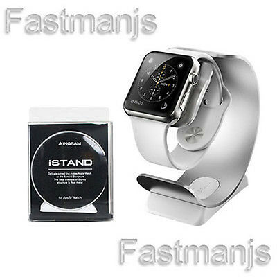 Genuine INGRAM iSTAND Aluminum Apple Watch Stand Charging Dock 38mm / 42mm