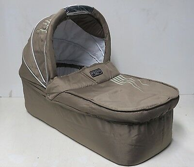 New Valco Baby Dart Bassinet In Taupe (For Use With Valco Matrix Pram)