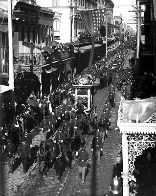 New 11x14 Photo: Funeral Procession of Confederate President Jefferson Davis