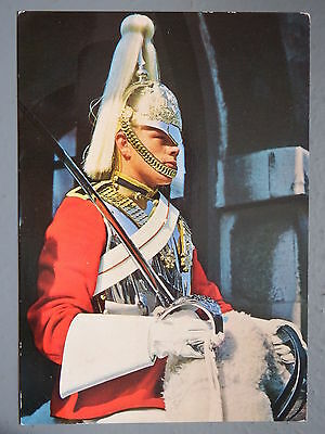 R&L Postcard: London Life Guard Sentry, J Salmon