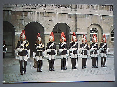R&L Postcard: The Household Cavalry, Officers & Troopers Blues & Royals