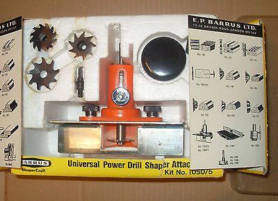 Barrus No.1050/5 Universal Power Drill Sharpener Attachment - As Photo.