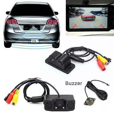 Hot Sale 2 en1 Night Vision Radar de recul Buzzer Rearview sauvegarde Parking ED