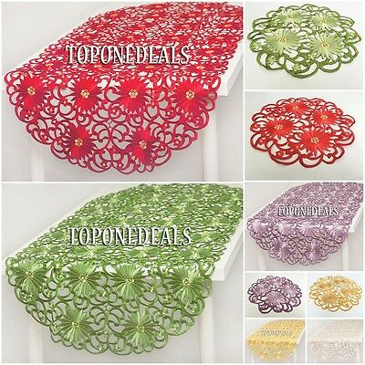 Amazing Table Runners Tablecloths 60x120cm Dining Living Room Table Decorations