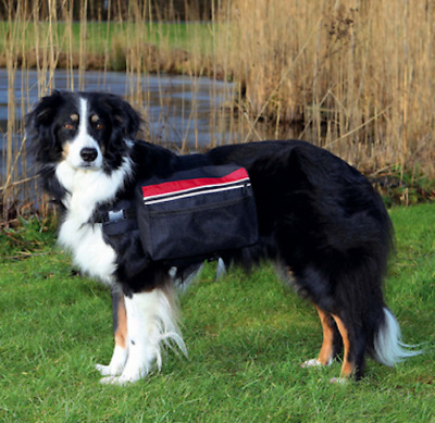 TRIXIE Dog Rucksack/Backpack, Ideal for long walks,Padded, Paniers,  Free P & P
