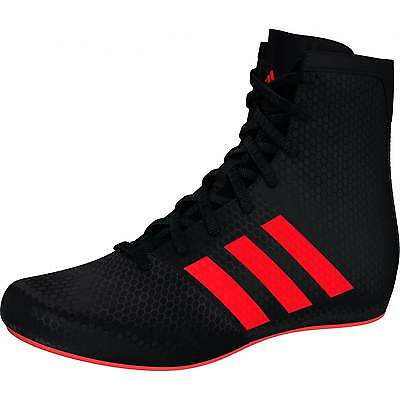 Adidas KO Legend Boxing Boots - Kids - Black Red
