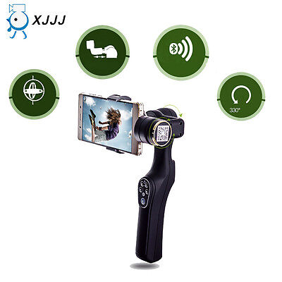 JJ-1 2-Axis Handheld Stabilizer Video Steadicam For 7 Inch Smart Phone & Camera