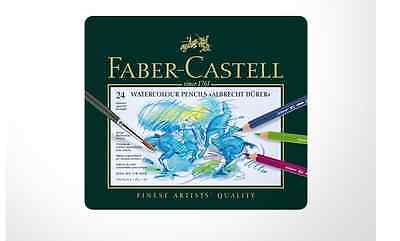 Faber-castell Albrecht durer Watercolour Pencils (Tin of 24) new