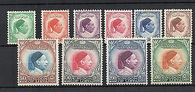 Libya 1952 vals to 500m MH