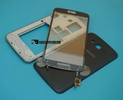 For Samsung Galaxy Grand 2 II G7102 G7106 black Housing Cover + Touch Screen