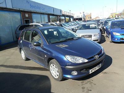 2005 Peugeot 206 SW 2.0 HDi S 5dr (a/c)
