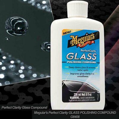 Meguiar's Perfect Clarity Glass Polishing Compound G8408 236ml
