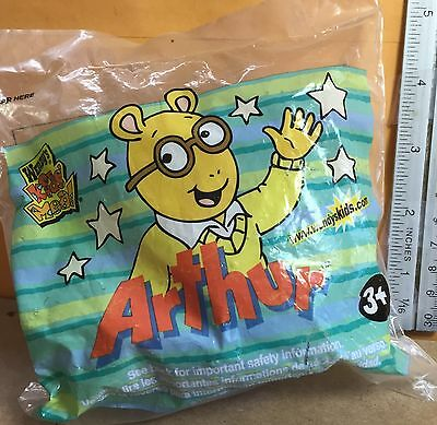 Wendy's Kid Meal Toy Arthur TV Show Aardvark DW Marc Brown Cake Topper