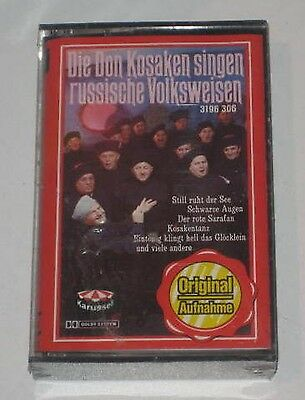 MC/SEALED/DON KOSAKNE SINGEN RUSSISCHE VOLKSLIEDER/Karussell 3196306/NEU NEW