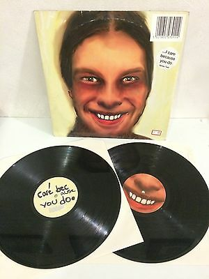 Aphex Twin - I Care Because You Do 2 LP Vinyl WARPLP30 1995 UK VG/VG+