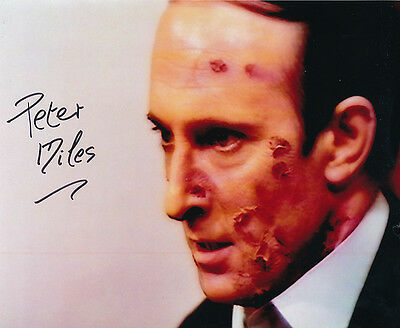 Peter Miles In Person Signed Photo - A111 - Doctor Who