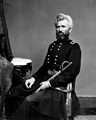 New 11x14 Civil War Photo: Union - Federal - Federal General Robert H. Milroy