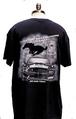 Shelby Gt 350 New Shirt With Caption You Can 't Make A Racehorse Out Of A Mule