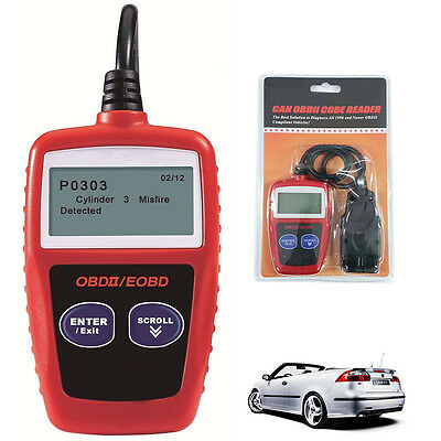 MS309 Scan OBDII OBD2 Vehicle Diagnostic Scan Tester Car Code Reader Tool AU