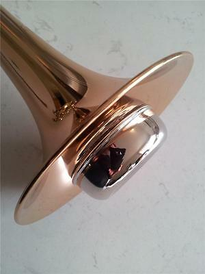 Trumpet or Cornet Mute, Metal body with Nickel finish...Brand New