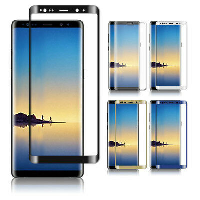 Full Cover Tempered Glass Screen Protector For Samsung Galaxy S7 S6 Edge + Plus
