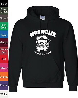 Mac Miller - Most Dope Hoodie, obey hip hop YMCMB TGOD ovoxo Hooded Sweatshirt