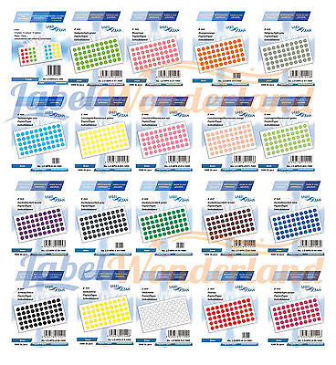 500 x Marking DOT STICKERS Round Spot Circles dots PAPER Labels 8 mm Best Price