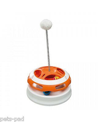 VERTIGO -Entertainment toy for cats, includes Illuminated ball. Free P&P