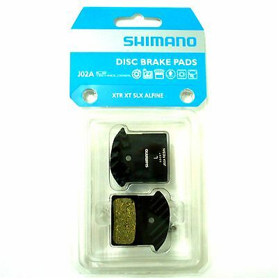 gobike88 Shimano J02A Disc Brake Resin Pad with FIN, AD8 F03C J04C F01A