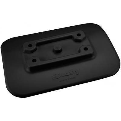 Scotty 341 Glue on Mount/ Pad for Inflatable kayaks Blk or Grey