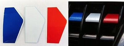 Renault Clio 172 182 Cup Trophy 2.0 Renaultsport French Flag Grill Vinyl Sticker